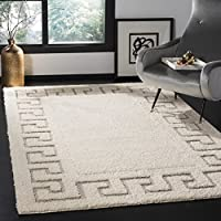 Safavieh Olympia Shag Collection OSG317B Cream and Beige Area Rug (3 x 5)