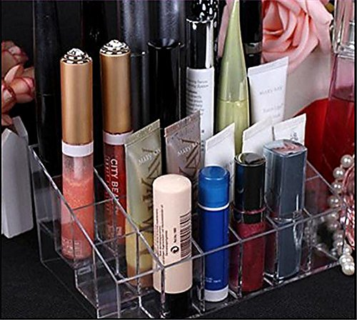 Acrylic 40 Lipstick Holder Display Box Cosmetic Makeup Case Organizer NEW (Dead Prom Queen Makeup)