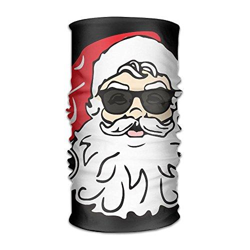 HEHE TAN Beanie Santa Claus With Sunglasses Multifunctional Bandanas For Men Women Sweatband Elastic Turban Headwear - Mink Sunglasses