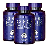 Good Hair Growth Vitamins with DHT Blocker and Biotin for Longer, Stronger, Healthier...