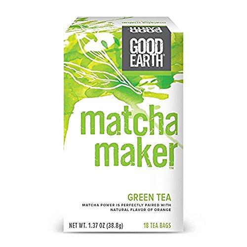 Good Earth Green Tea, Matcha Maker, 18 Count Tea Bags (Pack of - Good And Green