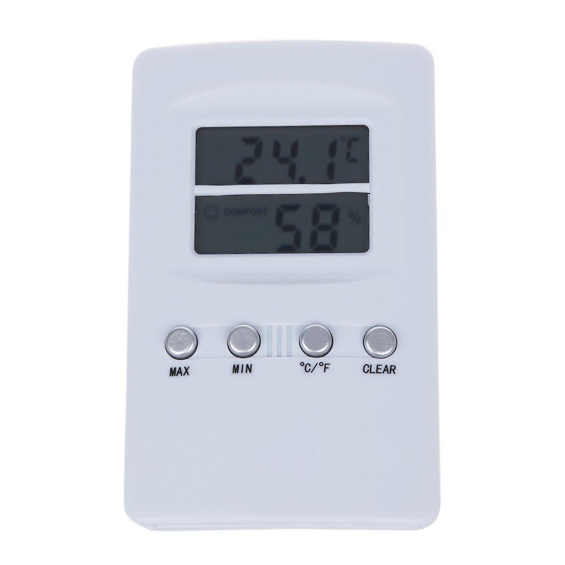 Hygrometer - SODIAL(R) Thermometer Hygrometer Digital Moisture Meter 9