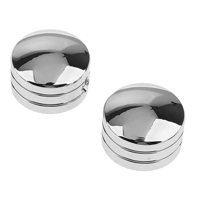 Chrome Baoblaze 2 Pieces Head Bolt Covers For Harley Sportster XL 86-up Twin Cam 99-up