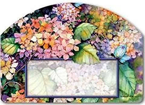 Magnet Works FALL HYDRANGEA Magnetic Yard DeSigns Plaque - Magnetic Yard