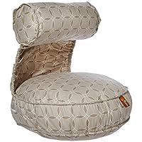 Leachco Preggie Pouffe asiento de maternidad blando, anillos de color topo