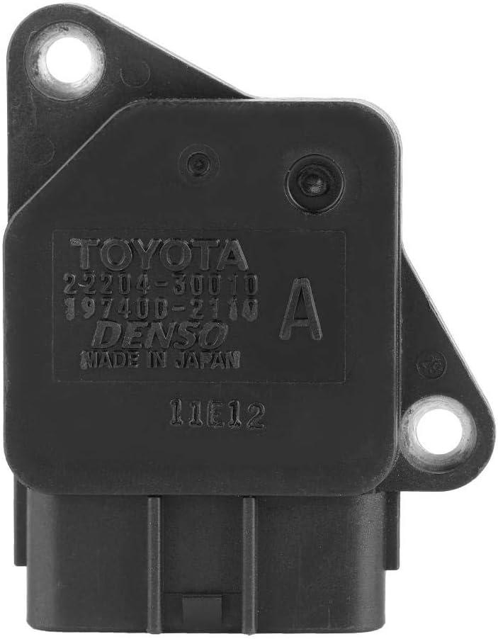 Terisass Auto Air Flow Sensor MAF Sensor Air Flow Sensor Meter for Toyota Yaris Corolla SED Verso Hilux Avensis Lexus IS250//350//2D