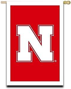 Team Sports America U of Nebraska Garden Flag - 13 x 18 Inches
