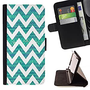 Momo Phone Case / Flip Funda de Cuero Case Cover - Nativo del patrón de la vendimia del trullo - LG G4c Curve H522Y (G4 MINI), NOT FOR LG G4