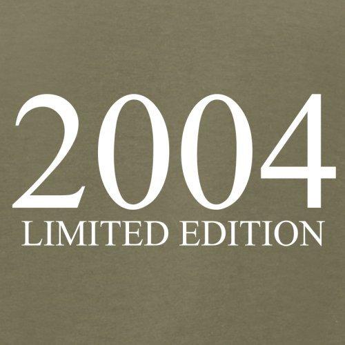 2004 Limierte Auflage / Limited Edition - 13. Geburtstag - Herren T-Shirt - Khaki - XS