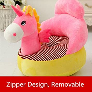 Children Chair Stuffed Unicorn Plush Chair Soft Cozy Armchair/Sofa Chair  For Kids Toddler Baby