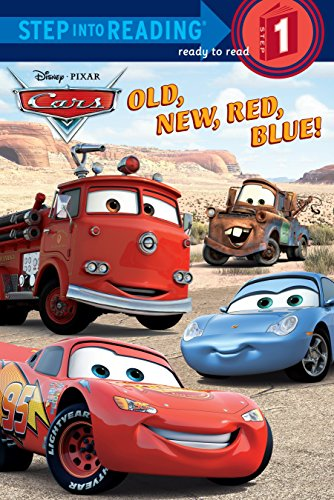 (Old, New, Red, Blue! (Step into Reading) (Cars movie tie in))