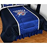 NBA Oklahoma City Thunder Sidelines Comforter, Twin, Bright Blue