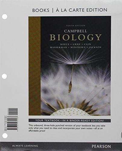 Campbell Biology, Books a la Carte Edition and A Short Guide to Writing About Biology Package (10th Edition)