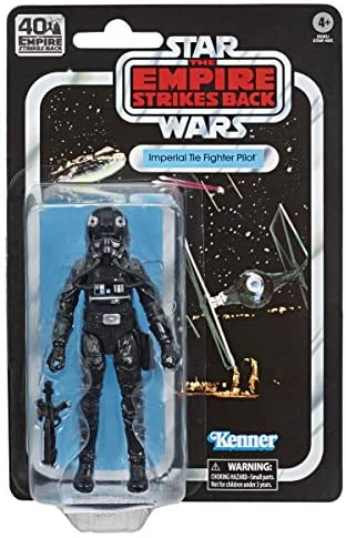 Hasbro Star Wars The Black Series Imperialer TIE-Jägerpilot 15 cm große Star Wars: Das Imperium schlägt zurück 40-jähriges Jubiläum Figur zum Sammeln