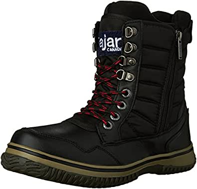Amazon.com | Pajar Men's TAL Snow Boot Black, 41 EU/8-8.5