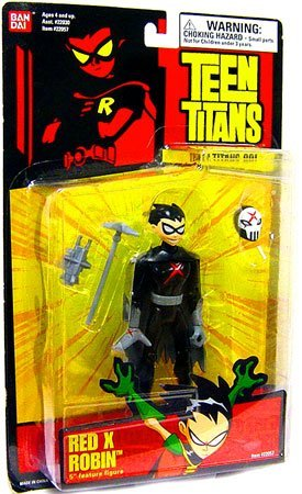 Teen Titans 5 Action Figure Red X Robin (Red X Teen Titans)