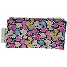 Itzy Ritzy Happens Mini Reusable Snack and Everything Bag, Posy Pop, 2 count