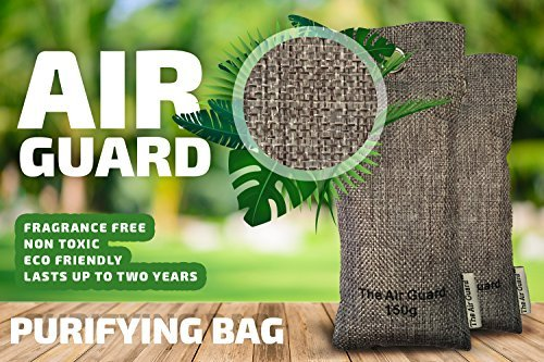 AirGuard - Reusable Odor And Moisture Filter With Natural Activated Zeolite rocks, Eco Friendly Air Purifying Bag, Eliminates Odor, Prevents Mold, Germs And Mildew, Repels Smell (Zeolite, - Charcoal Zeolite