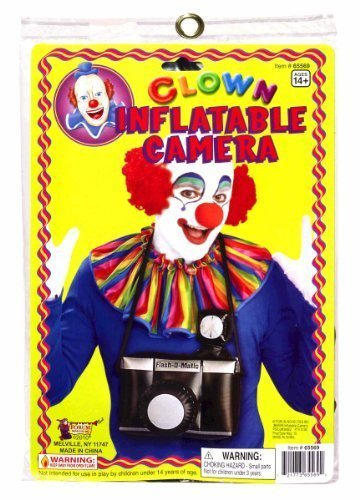 Clownin' Around - Clown Inflatable Camera, For 14+ Years (Inflatable Clown)