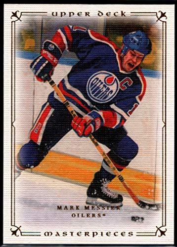 Hockey NHL 2008-09 Upper Deck Masterpieces #84 Mark Messier Oilers