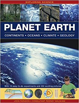 Exploring Science Planet Earth Continents Oceans Climate - All oceans on earth