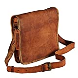 Hell Blues: Leather Handmade iPad Air and Netbook Bag Fits 7 to 10.5 Inch Tablets