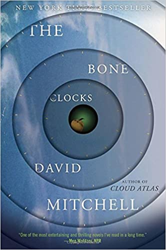 Image result for The Bone Clocks by David Mitchell