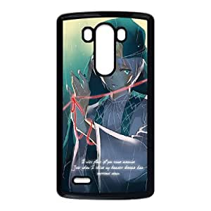 Magi The Labyrinth Of Magic 001 funda LG G3 Negro de la cubierta del teléfono celular de la cubierta del caso funda EOKXLKNBC31206