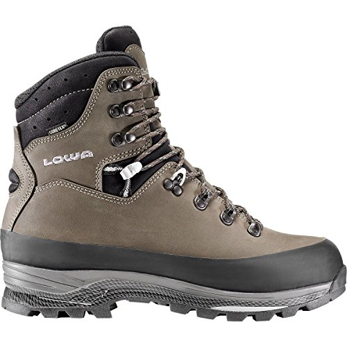 Lowa Mens Tibet Gore-Tex Sepia/Black Leather Boots 9 US