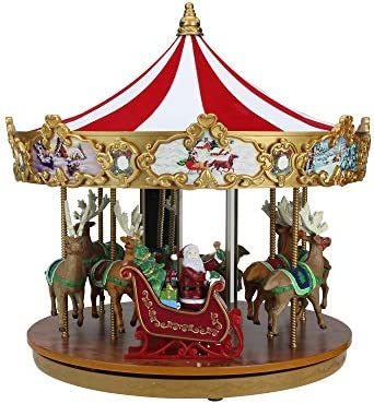 Mr. Christmas Animated and Musical Very Merry Carousel