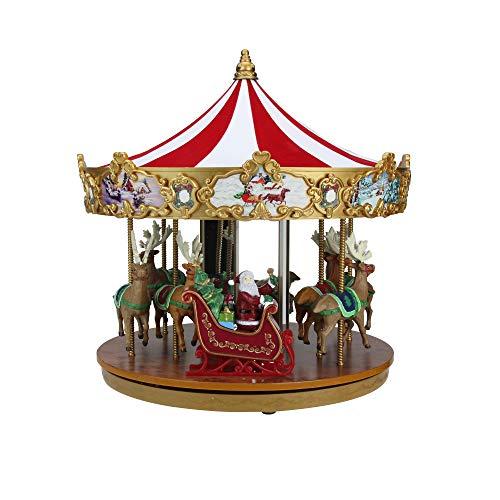 - Mr. Christmas Animated and Musical Very Merry Carousel