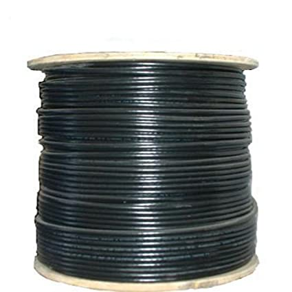 CERTICABLE 200 RG6 QUAD SHIELD CABLE WIRE DIRECT BURIAL FLOODED NO CONNECTORS