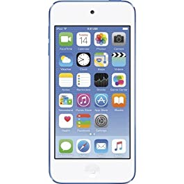 Apple iPod Touch 16GB Blue (6th Generation) MKH02LL/A (Refurbished)