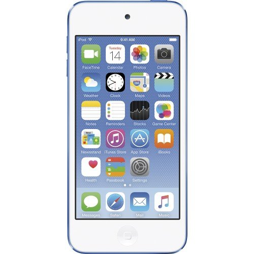 Apple iPod Touch 32GB Blue (6th Generation) MKHV2LL/A (Renewed) (Ipod Nano 5th Blue)