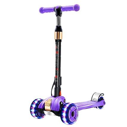 Patinete- Scooter para niños de 2-16 años de Edad Cuatro ...