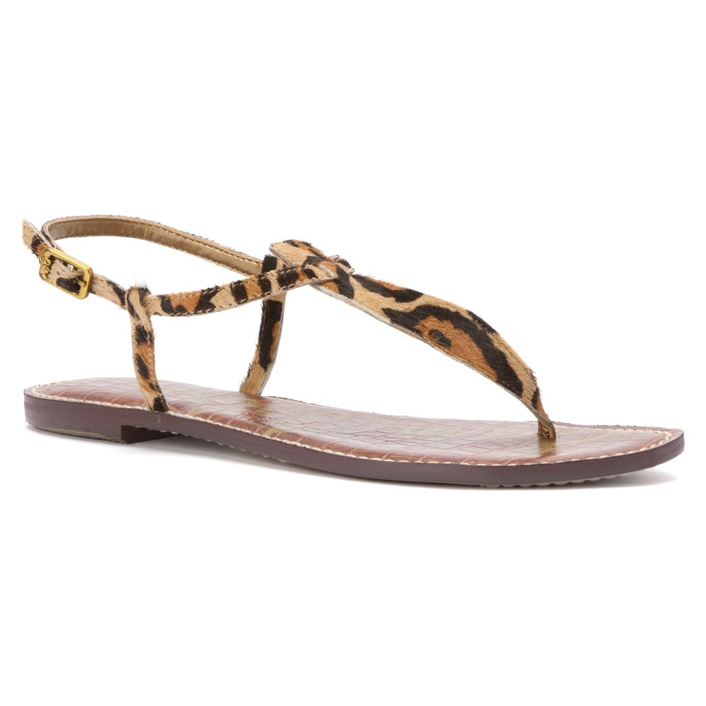 New Nude Leopard Sam Edelman A4940SF939, Sandales Femme