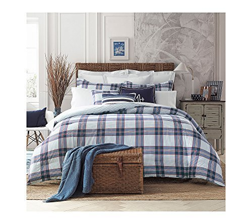 e55eb52232158 Tommy Hilfiger 22050949TH002 Th Surf Plaid Comforter Set Th Surf Plaid