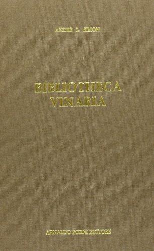 Bibliotheca vinaria (rist. anast. 1913)