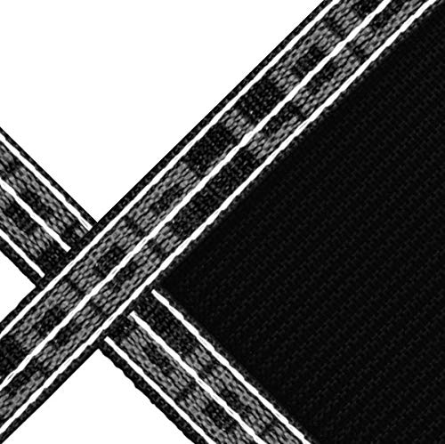 16' x 36' Rectangle with 4' x 8' Center End Step Loop-Loc II Black Super Mesh In-Ground Pool Safety Cover