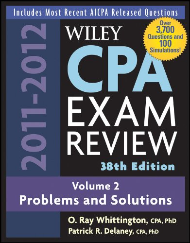 Download Wiley CPA Examination Review, Problems and Solutions: Volume 2 (Wiley CPA Examination Review Vol. 2: Problems & Solutions) Pdf