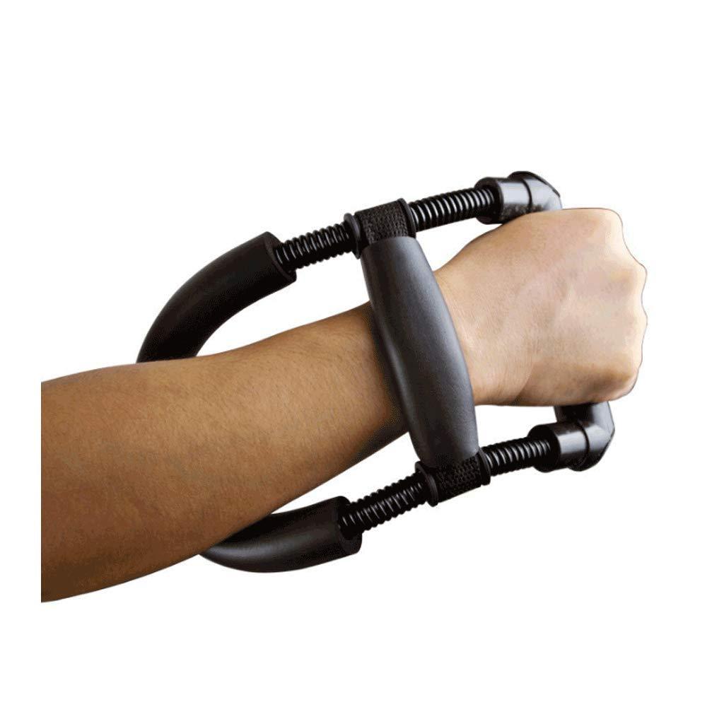 JXLBB Wrist Men's Grip Training Wrist Wrench Wrist Badminton Strength Training Arm Power Equipment Wrist Training Steel Spring Exercise Forearm Badminton Training Wrench Wrist (Color : Black)