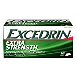 Excedrin Extra Strength Caplets for Headache Pain Relief 1 Pack of 300 Count