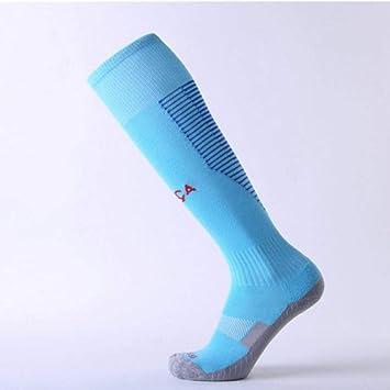 WADUANRUN Calcetines de fútbol para niños/Medias de fútbol ...