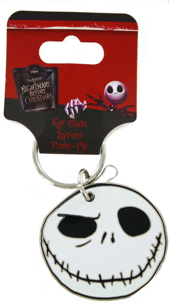 Plasticolor 004262R01 Nightmare Before Christmas Graveyard Enamel Key Chain, 1 Pack