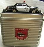 RL3030 Fossil Relic Police Car Desk Clock Patrol