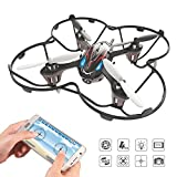 Holy Stone F180W Mini FPV Drone with 720p HD Camera, includes Bonus Battery, Power Bank, and 8 Blades