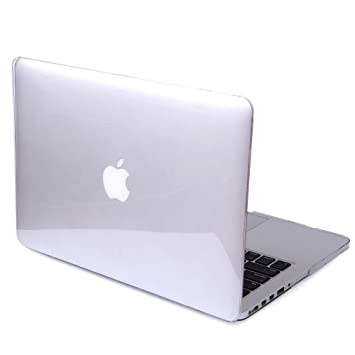 DETUOSI MacBook Pro Retina 13.3 Cover Case,[Glossy Design] Hard Crystal Case para Apple MacBook Pro 13,3