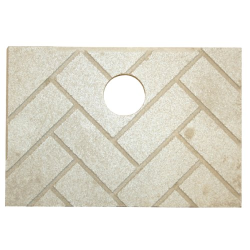 Brick Accessory (US Stove 891139 Herringbone Ceramic Brick)