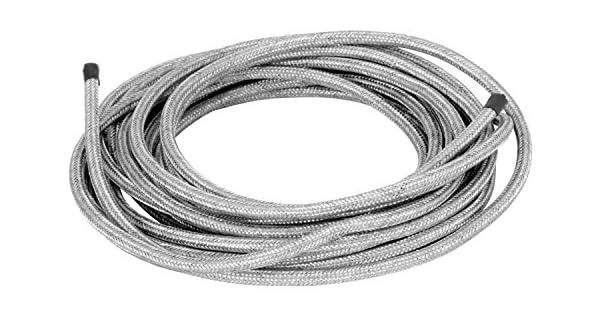 "Spectre Performance 29406 3//8/"" x 6/' Stainless Steel Flex Fuel Line"