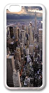 iPhone 6 plus Case and Cover -Wide City Scape TPU Silicone Rubber Case Cover for iPhone 6 plus and iphone 6 plus 5.5 inch Transparent